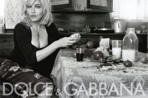 Dolce & Gabbana Madonna Spring/Summer 2010 Ad Campaign