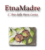 EtnaMadre Presents Hand Made Sicilian Artistic Ceramics on Lava Stone