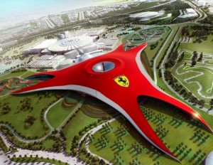 Ferrari World Abu Dhabi Opening October 2010