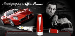 Montegrappa for Alfa Romeo 100th anniversary