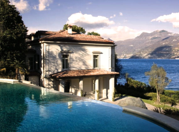 Own A Lake Como Villa Next Door To Clooney Italia Living