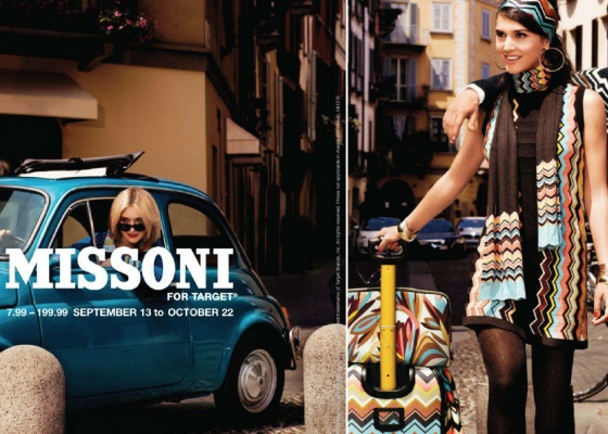 Missoni Fall Collection Partnership with Target