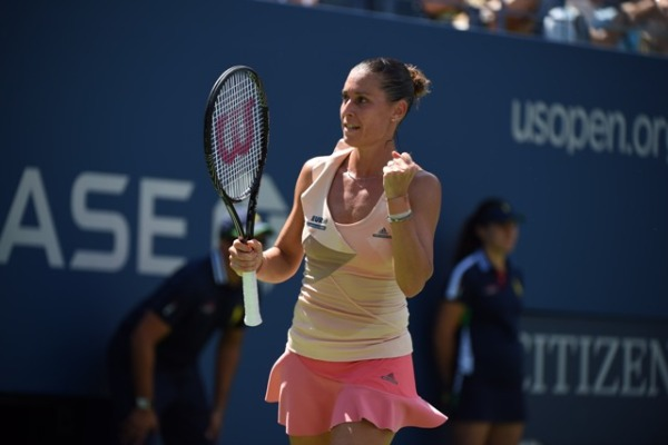 Flavia Pennetta Performing Well at 2014 US Open