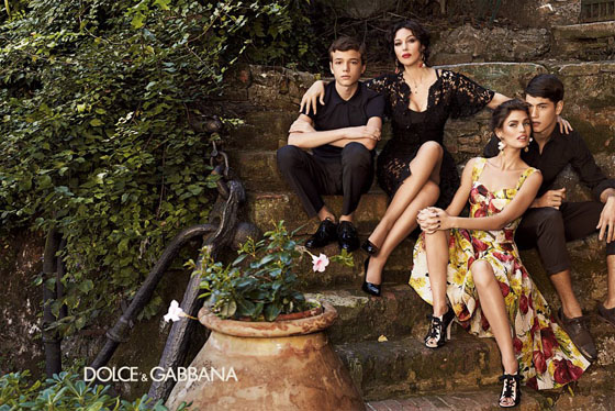 d6684f62 Dolce & Gabbana Women Ad Campaign Spring/Summer 2012 • Italia Living