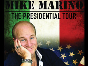 Celebrity Spotlight: Mike Marino on the Campaign Trail