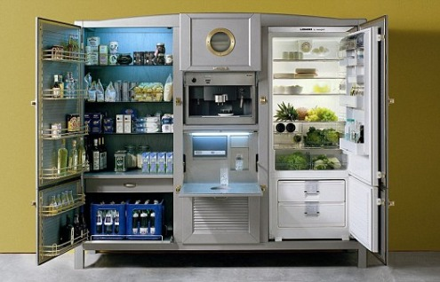 Meneghini la cambusa fridge for the ultimate kitchen for Ultimate kitchens