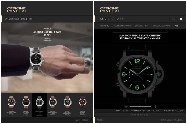Panerai Lovers Enjoy New App for iPad and iPhone