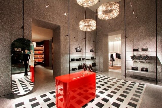 valentino to open its largest international flagship store. Black Bedroom Furniture Sets. Home Design Ideas