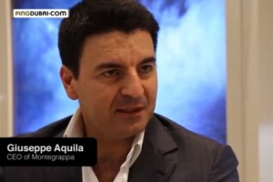 Interview with Montegrappa's CEO, Giuseppe Aquila at Baselworld 2013