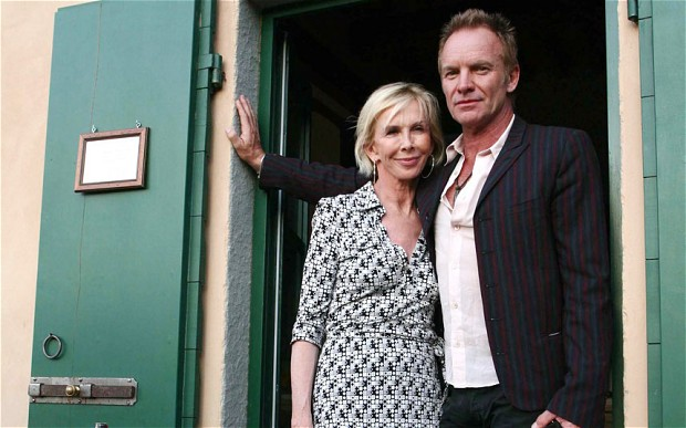 Musician Sting Opens Door to the Il Palagio Tuscan Estate