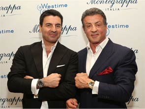 Montegrappa Introduces New Chaos Watch Series with Celebrity-Designer Sylvester Stallone