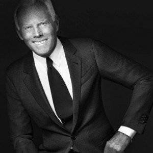 Giorgio Armani Himself is the Face of Made-to-Measure Line