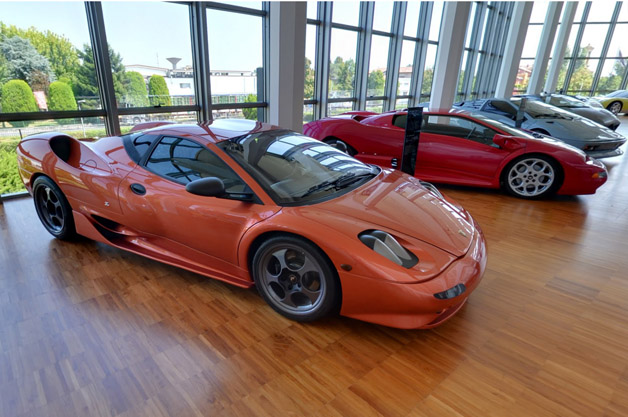 Tour Lamborghini Museum with Google Street View