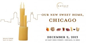 Opening of Eataly Chicago