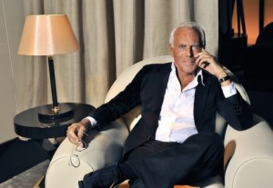 Giorgio Armani Joins Italian Chamber of Fashion