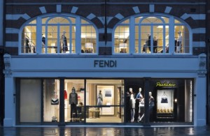 Fendi Opens New Flagship Store in London