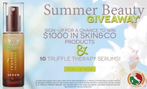 Italia Living Summer Beauty Giveaway