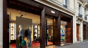 Fendi Opens First Men's Only Store in Paris