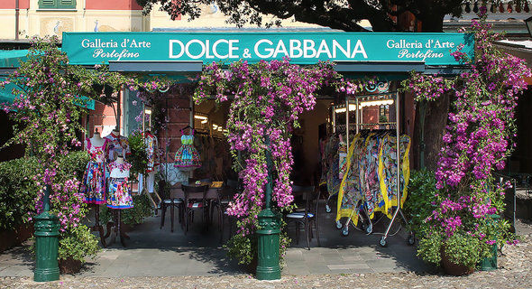 Dolce & Gabbana Pops Up in Portofino