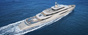 279-Foot Ottantacinque Yacht Concept Makes a Splash in Monaco