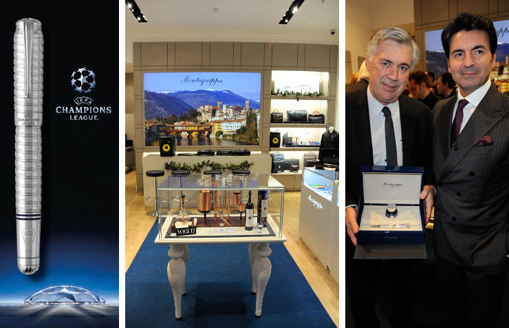 Montegrappa Celebrates the Opening of Their Flagship Boutique in London
