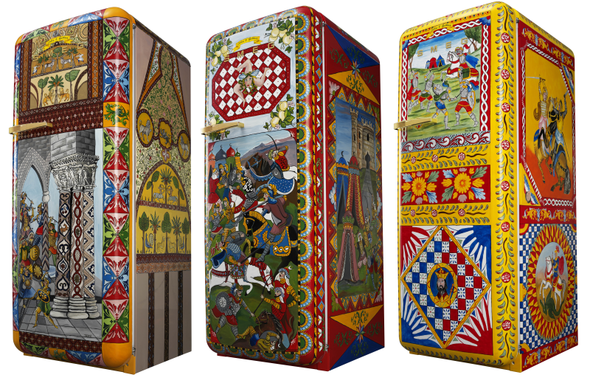 Dolce & Gabbana Collaborate with Smeg on the FAB28 Refrigerator