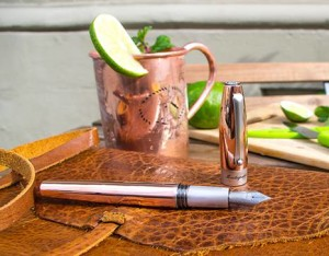 Luxury Brand Montegrappa Creates New Pen and Inspired Drink