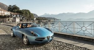 Alfa Romeo Disco Volante Spyder to Make its Debut in North America