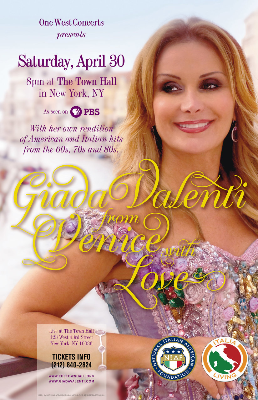 Enjoy a Romantic Evening in NYC with Giada Valenti