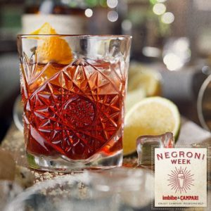 Negroni Week – Enjoy a Classic Drink for a Good Cause