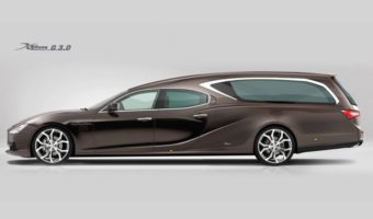 Maserati Ghibli Hearse: Going Out In Style