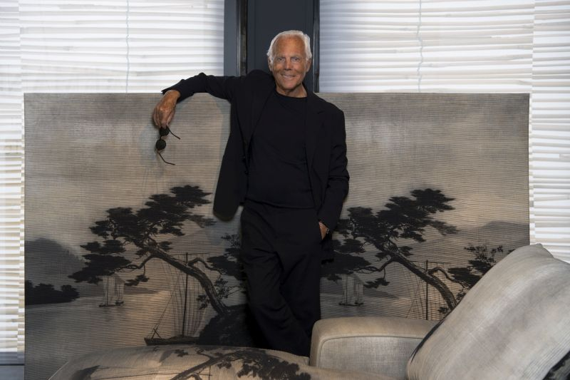 Giorgio Armani To Open New Armani Casa In Milan Italia