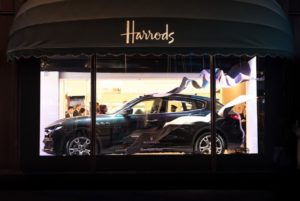 Ermenegildo Zegna and Maserati at Harrods