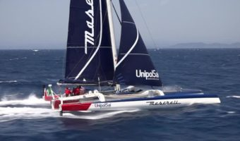 Maserati Multi70 headed to Rolex Middle Sea Race