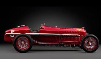 Rare 1934 Alfa Romeo Tipo B P3 Grand Prix Racer Hitting Auction Block