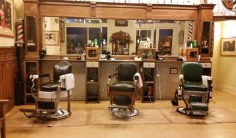 Nostalgia of the Italian Barber Shop