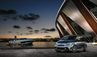 Limited Edition Abarth 695 Rivale Inspired by the Riva 56 Rivale Yacht