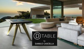 D-TABLE Luxury Interactive Design Made in Italy