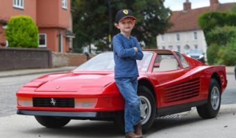 Mini Ferrari 512 Testarossa May Be the Most Expensive Kids Toy Money Can Buy