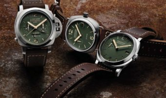 Panerai Limited Edition Green Dial Collection
