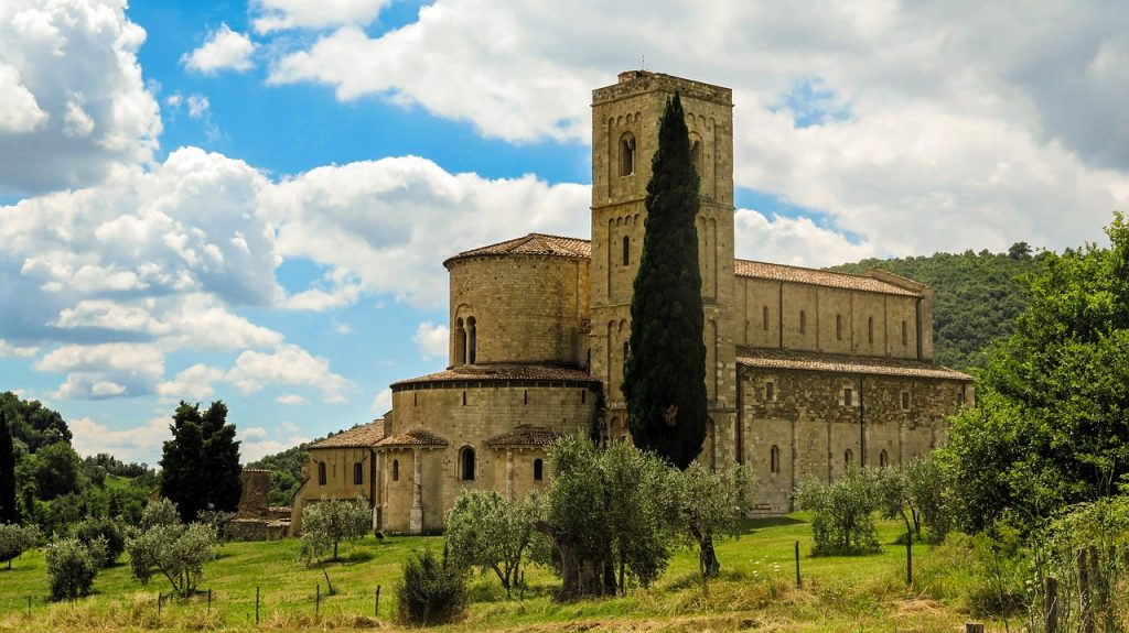 Abbey of Sant'Antimo Montalcino