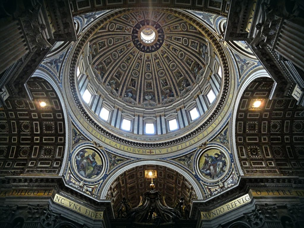 Dome of Saint Peter's Basilica Vatican