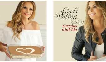 Italian singer Giada Valenti Celebrates Tiramisu Day (March 21)