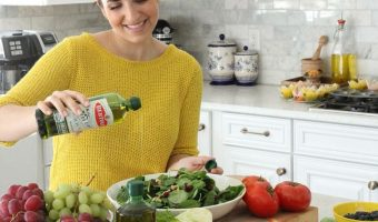 Deoleo Launches New Bertolli Olive Oil Bottle and Partners with Laura Vitale