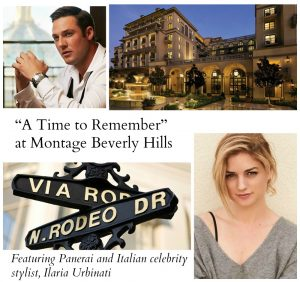 """A Time to Remember"" with Panerai and Montage Beverly Hills"