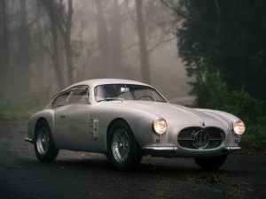 1956 Maserati A6G/2000 Berlinetta Zagato Set for Auction