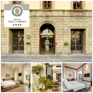 Hotel Orto de' Medici in Florence is the New Luxury 4 Star Hotel in Town