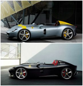 Ferrari Unveils Monza SP1 and SP2
