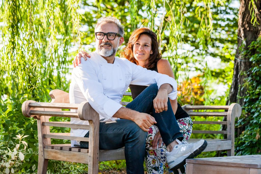Massimo Bottura & wife, Lara Gilmore. Photo credit: Marco Poderi