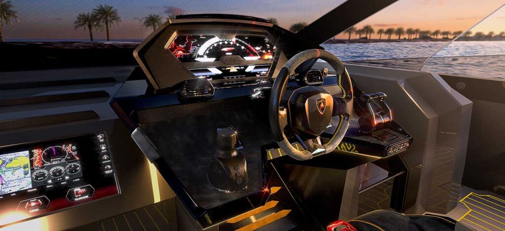 The Tecnomar for Lamborghini 63 Italian Super-Yacht • Italia Living